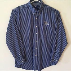 Men's University of Kentucky Button Down Large